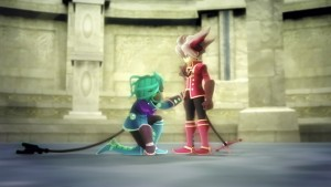 Rodea the Sky Soldier's Characters and World are Detailed