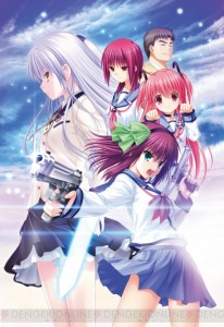 The Visual Novel, Angel Beats! 1st Beat, Gets a Date, Video, and Lots of Screenshots