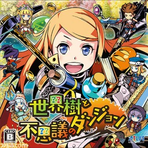 Here's the First Look at the Japanese Box Art and Wanderer Class in Etrian Mystery Dungeon