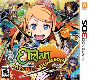 English Boxart and Debut English Trailer are Revealed for Etrian Mystery Dungeon