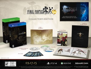 Final Fantasy Type-0 HD Collector's Edition Revealed, Comes with a 200 Page Manga