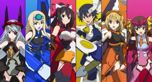 Gameplay and Screens for Infinite Stratos: Versus Colors, Launching on New Year's Eve