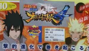 Naruto Ultimate Ninja Storm 4 is Revealed for Playstation 4