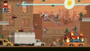 The Head of Sony's Game Studios is in Super Time Force Ultra