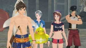 Tales of Zestiria DLC Videos Show Off Sea Resort and Alternative Outfits