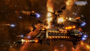 Battlefleet Gothic: Armada, a Warhammer 40K RTS, is Revealed for PC