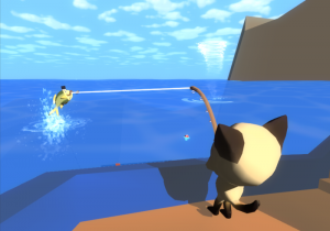 The Adorable Waterfaring Cat Game, Catfish, is on Kickstarter and Steam Greenlight