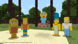 The Simpsons Family Are Coming to Minecraft