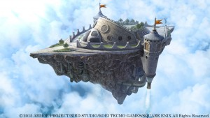 Details, Stills, and Video for Dragon Quest Heroes' Airship, Batoshie