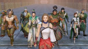 The Opening Cinematic, Screenshots, and Weapons of Dynasty Warriors 8: Empires