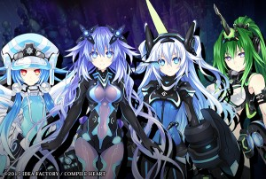 Off-Screen Hyperdimension Neptunia Victory II Transformation and Gameplay Videos