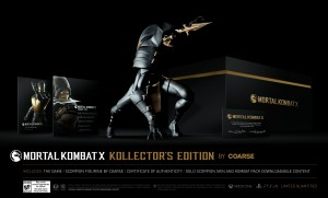 Kollector's Edition for Mortal Kombat X Revealed, Comes with Scorpion Statue