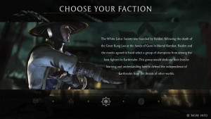 Mortal Kombat X Video Details the Newest Feature of the Series, Factions