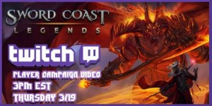 Sword Coast Legends To Be Streamed On Twitch