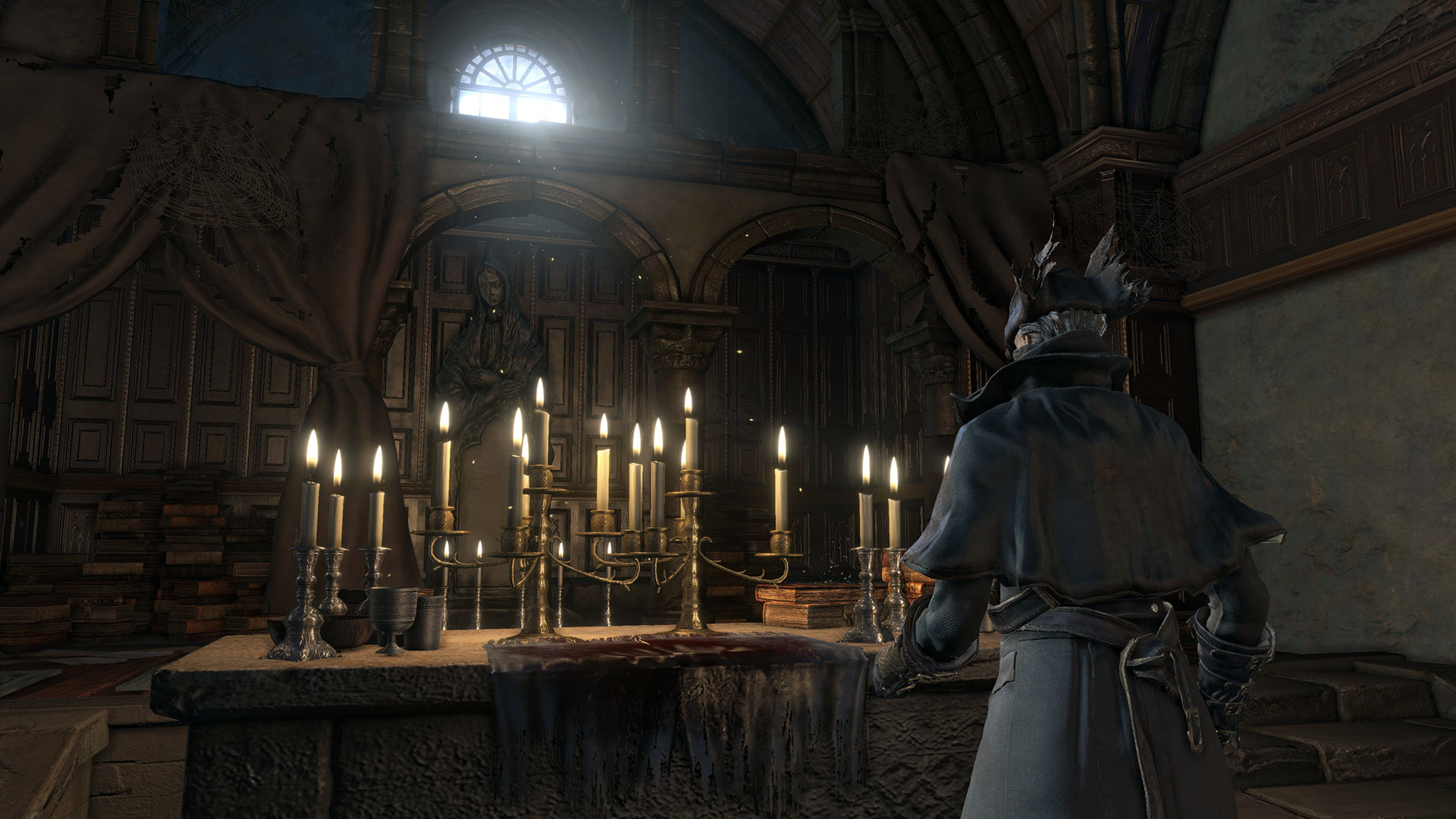 New details about bloodborne 39 s hub the hunter 39 s dream for Yharnam architecture