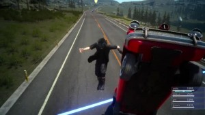 Player Gets Across the Blue Line Boundary in Final Fantasy XV's Episode Duscae Demo