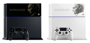 Playstation 4 Resident Evil, Samurai Warriors Faceplates Now Available in Japan