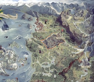 New Info for The Witcher 3: Wild Hunt, a Look at Its World Map, and Screenshots