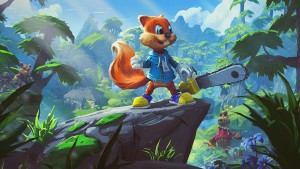 First Gameplay for Conker's Big Reunion is Revealed