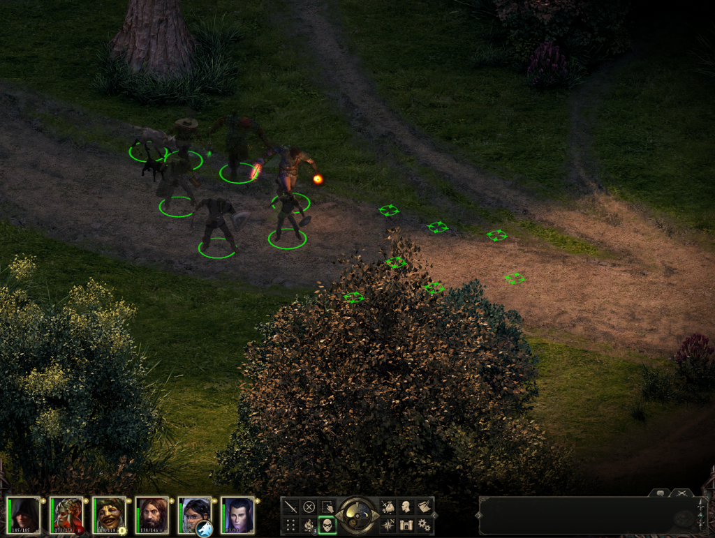 Pillars of Eternity is a throwback to Infinity Engine games.