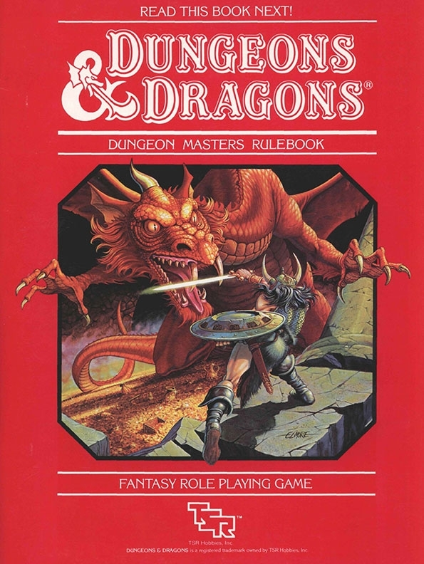 Dungeons & Dragons rulebook