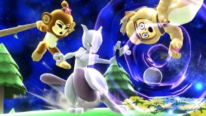 Get a Comparison Between Mewtwo's Original and New Forms in Super Smash Bros.