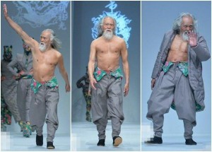 79-Year Old Chinese Actor/Male Model Belongs in a Tekken Game