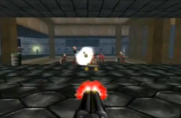 UAC Labs, a Doom 2 level created by one of the Columbine shooters