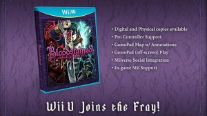 Bloodstained is Set for Wii U, Asynchronous Multiplayer and PS Vita Stretch Goals Revealed