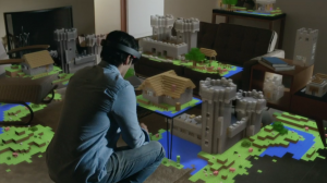 Microsoft Purchased Minecraft Because It Was Perfect for Hololens