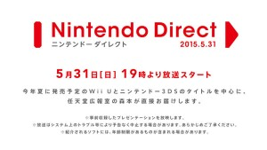 Japanese Nintendo Direct Set for May 31
