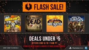 New Playstation Network Flash Sale has Dozens of Games for Under $5
