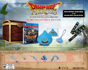 Dragon Quest Heroes Release Date and Slime Collector's Edition Revealed