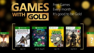 Games with Gold Features So Many Me, Plants vs. Zombies, and More in July
