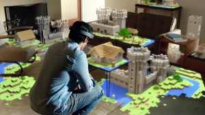 Minecraft is Officially Coming to HoloLens