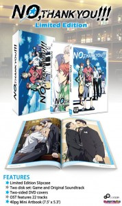 Yaoi Visual Novel No, Thank You!!! is Getting a Swanky Limited Edition