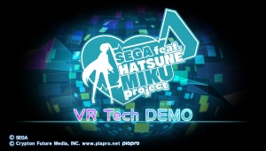 Hatsune Miku Gets Her Own Project Morpheus Demo, Playable at E3 2015