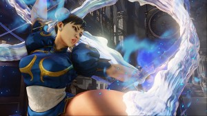 If Street Fighter V had Dead or Alive's Breast Physics