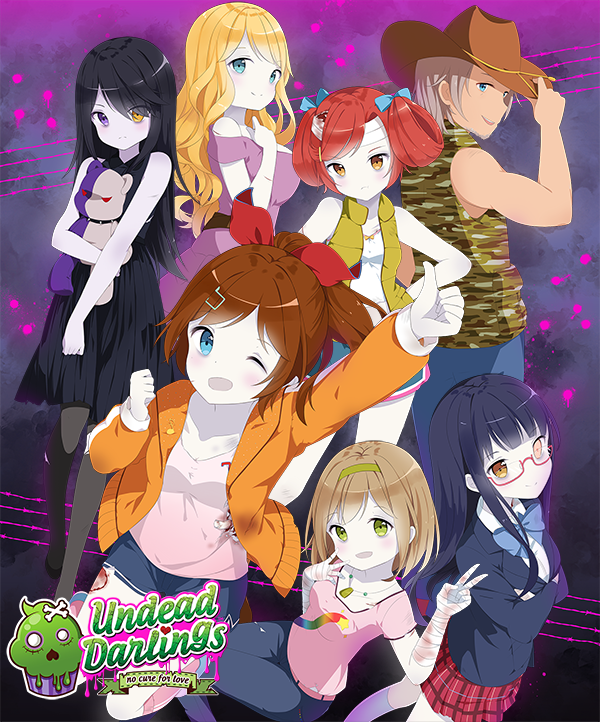 Undead Darlings ~No Cure for Love~ is a Hilarious and Cute New Dungeon RPG/VN