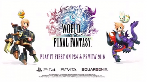 World of Final Fantasy is Revealed for PS4, PS Vita