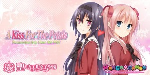 The Yuri-Romance A Kiss For The Petals: Remembering How We Met is Coming West