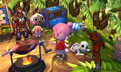 Animal Crossing Happy Home Designer Preview, 7-11 and Monster Hunter on home decorating games, jewelry games, house games, architect games, home design games, home design story,