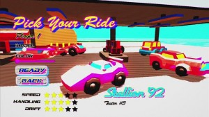 Rad Road Rally Is a Top-Down Racer Filled With 90s Goodness