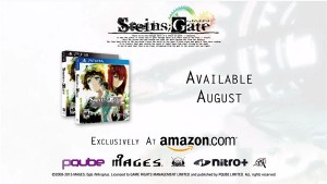 Steins;Gate on PS3 and PS Vita is Exclusive to Amazon in USA