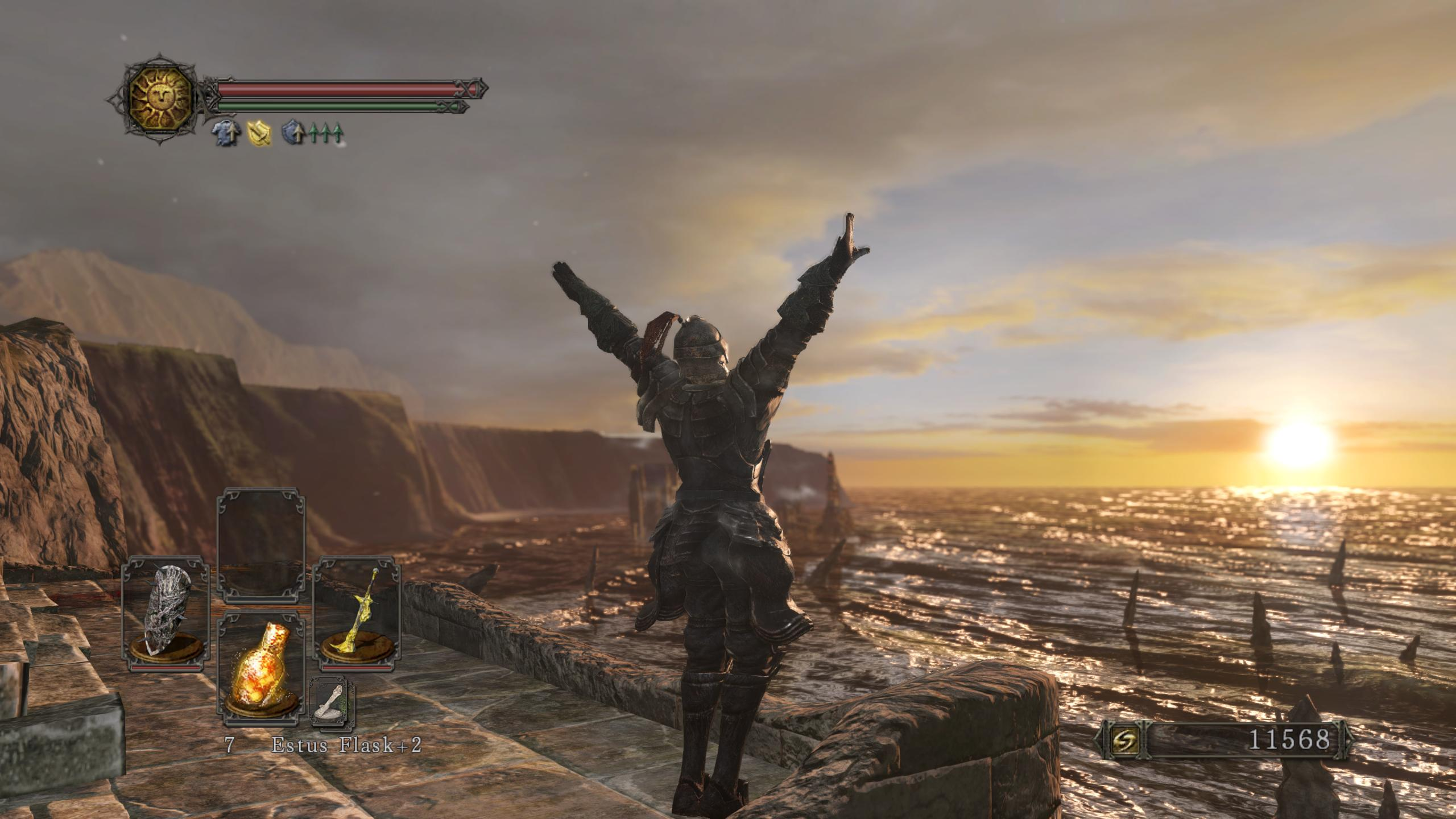Dark Souls  Sotfs Sunbro Build