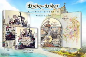 The Legend of Legacy is Launching on October 13 with a Gorgeous Launch Edition