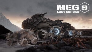 MEG 9: Lost Echoes is a New Tactical Sci-Fi Game by William Gibson