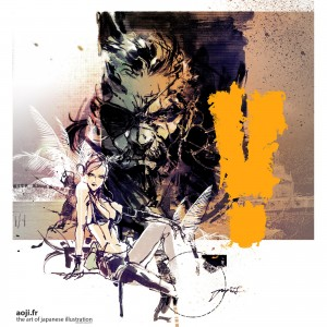 Yoji Shinkawa Puts Out Gorgeous New Metal Gear Solid V Illustration