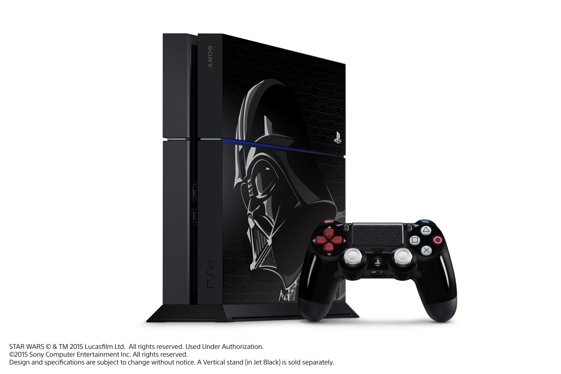 Limited edition darth vader playstation 4 console is revealed niche gamer - Ps3 limited edition console ...