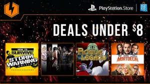 New Playstation Network Flash Sale has Games for Under $8